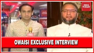 Asasuddin Owaisi Exclusive Interview With Rahul Kanwal On India Today
