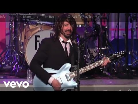 Foo Fighters – Big Me (Live on Letterman)