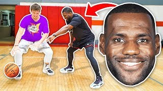 NBA Workout with Lebron James Skills Trainer