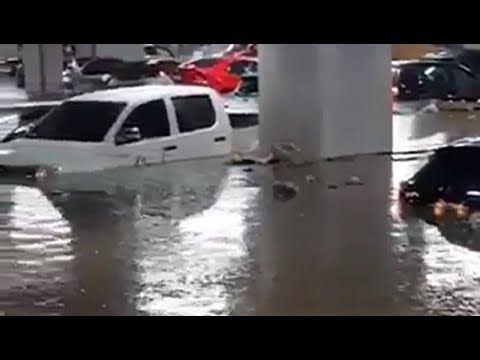 Flooding in Jalisco, Mexico - Hurricane Bud June 10, 2018