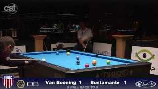 2015 USBTC 9-Ball: Shane Van Boening vs Joven Bustamante