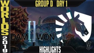 DWG vs TL ighlights Game 1 | Worlds 2019 Group D Day 1 | Damwon Gaming vs AHQ Esports Club