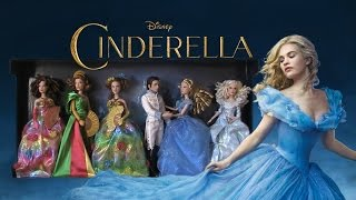 Cinderella Doll Set - Film Collection Cenerentola (Disney Store)