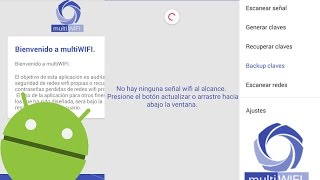 Descifrar claves Wifi en Android