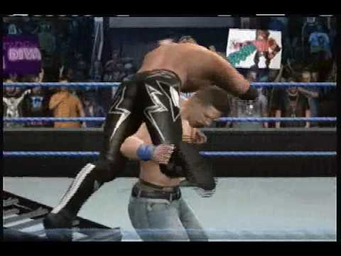 Lets play smackdown vs raw 2010: Edge vs John Cena Unforgiven 2006 Video