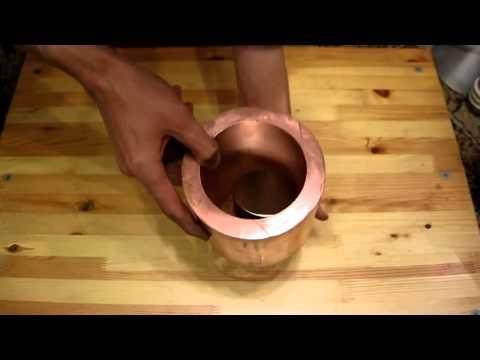 Фокус с магнитом и медной трубой от http://24magnet.ru