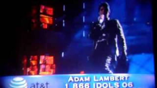 Watch Adam Lambert Cryin