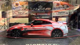 Nissan GT-R Painted by Artists In Ostroda | 2015 Geneva Motor Show