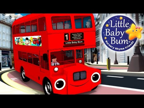 Wheels On The Bus | Part 6 | Nursery Rhymes | Hd Version From Littlebabybum video