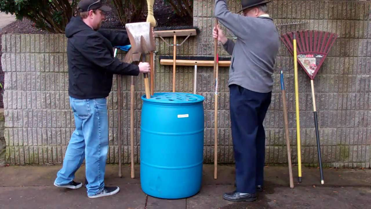 How To Build A Garden Tool Storage Bin For Under 20 Holds
