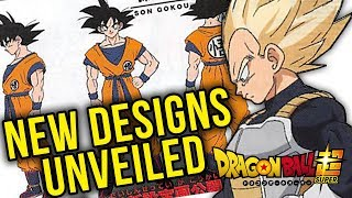 NEW Dragon Ball Super Movie Character Designs Unveiled! Goku, Vegeta, Piccolo, Whis, and Beerus