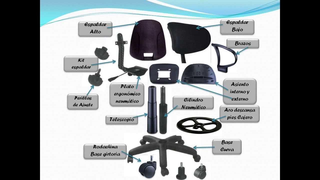 Sillas de escritorio giratorias de oficina fabrica for Sillones ejecutivos para oficina