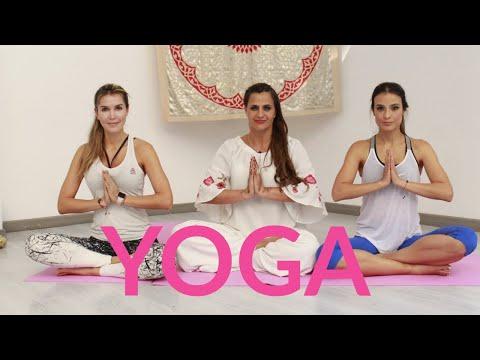 Yoga en casa🧘🏻♀️ Ft Isa Estrada y Alexandra Santos -Antonina Canal