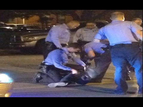 Off-duty Cop Shots & Kills UNARMED 18-Year-Old 16 Times Killed in Ferguson St. Louis   Shaw shooting
