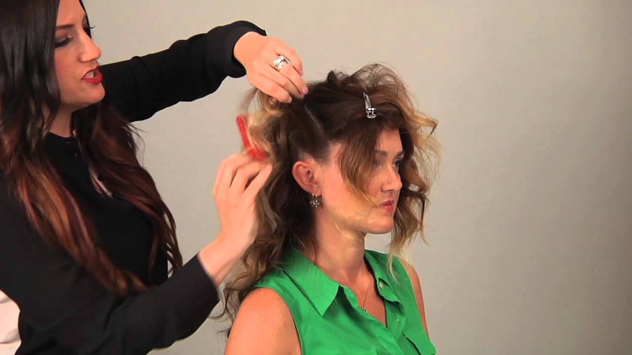 Long Hair Styling Tips: How To Tease Long Hair To Give It Height : Long Hair
