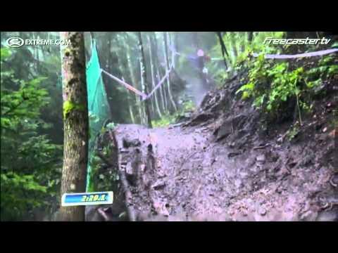 Descenso brutal en bicicleta Danny Hart's campeon del mundo 2011.