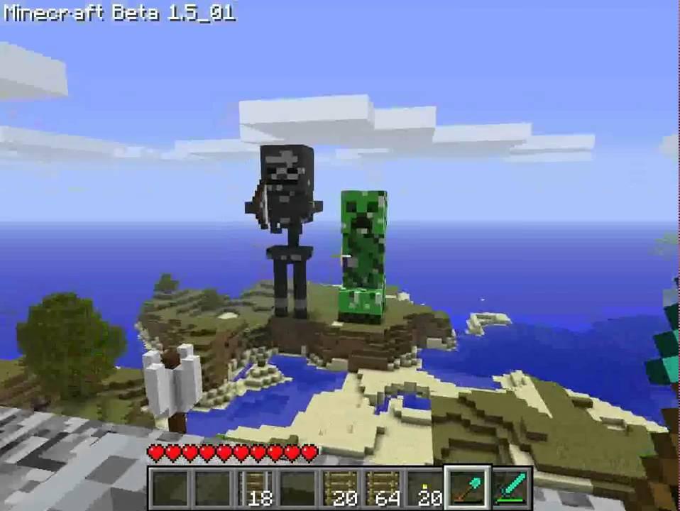 minecraft pos�g szkieleta youtube