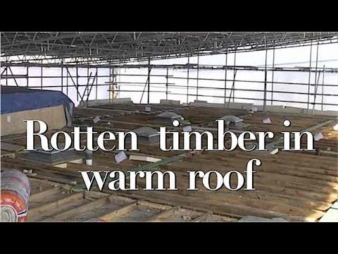 Rotten Timber Found In New Insulated Flat Roof Youtube