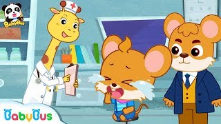 Whiskers Doesn't Wash Hands Before Eating | Picture Book Cartoon | Kids Good Habits | BabyBus