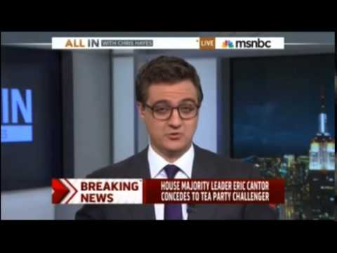 Stunned cable news anchors react to Eric Cantor primary defeat