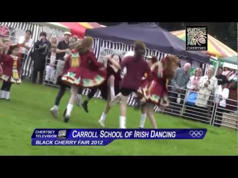 Carroll School of Irish Dancing at the Black Cherry Fair 2012