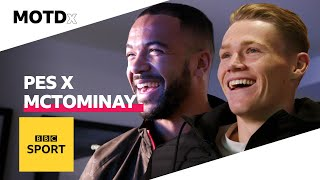 Playing PES 2020 and trainer shopping with Scott McTominay | MOTDx