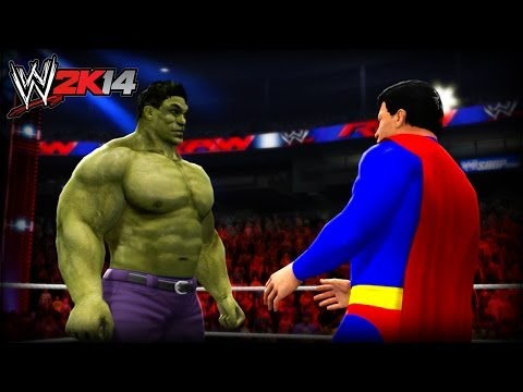 WWE 2K14 Tournament: Hulk VS Superman (Marvel VS DC)