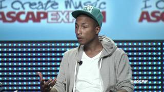 "Pharrell Williams Master Session - ASCAP ""I Create Music"" EXPO 2011"