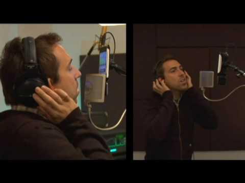 "Malbec recording ""Summer"" using Mikey"