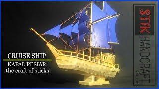 CRUISE SHIP Ice Cream Sticks   Popsicle   STIK HANDCRAFT