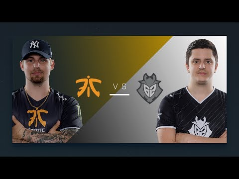 CS:GO - Fnatic vs. G2 [Overpass] - Round 5 Group A - Dallas Finals - ESL Pro League Season 5