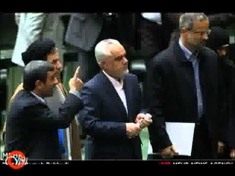 بی اخلاقی دولت و مجلس احمدی نژاد و لاریجانی