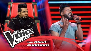 Sasith Wickramasinghe - Marry You | Blind Auditions | The Voice Sri Lanka