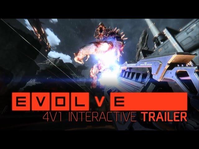 Новое видео геймплея Evolve, показывающее всю механику и красоту игры