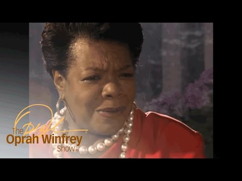 """God Loves Me"" - Conversations with Oprah: Maya Angelou, 1993 - The Oprah Winfrey Network"