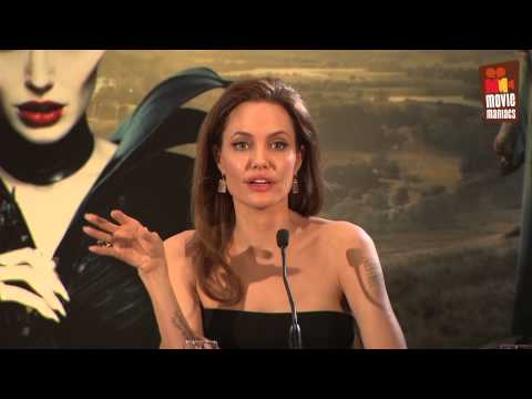 Maleficent | Press Conference Paris (2014) Angelina Jolie