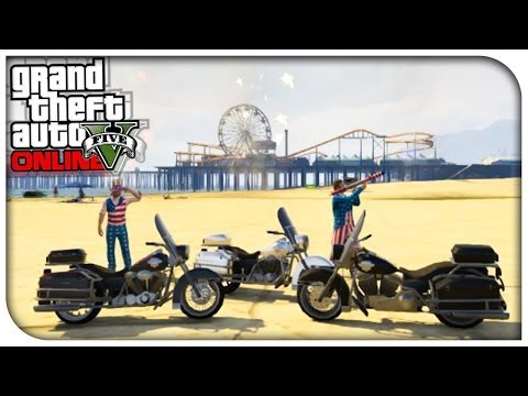GTA 5 Online - Independence Day DLC Review. Heist Code & More! (Squadcast #18) [GTA V]