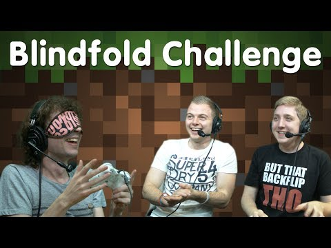 Minecraft Xbox Blindfold Challenge Part 1