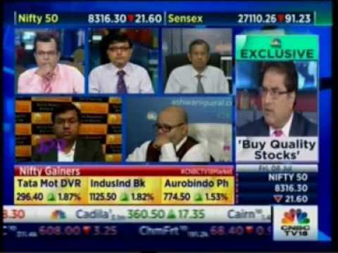 Watch Mr. Varun Goel on CNBC for the show 'NSE Closing Bell'