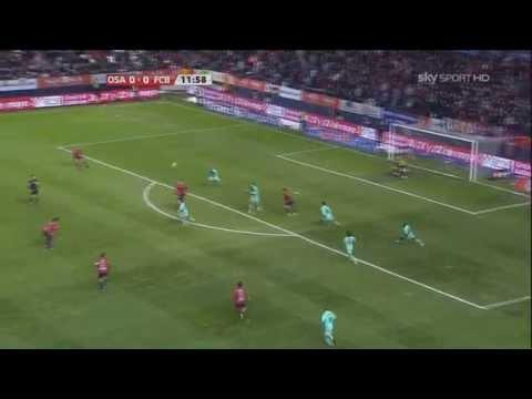Gerard Piqué vs Osasuna 10-11 (Away) HD 720p