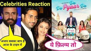 De De Pyaar De Movie Celebrities Reaction | De De Pyaar De | Celebrities Review And Reaction