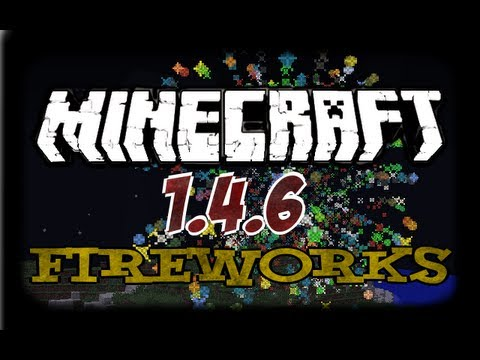 Minecraft 1.7.2 How To Craft Fireworks