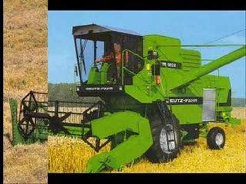 Bajki traktory i kombajny
