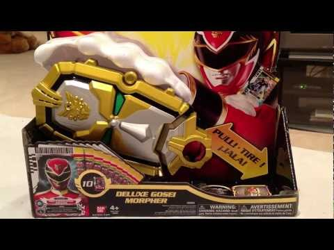 Deluxe Gosei Morpher Review [Power Rangers Megaforce]