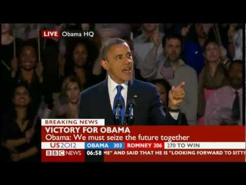 President Barack Obama - 2012 Re-election Acceptance Speech