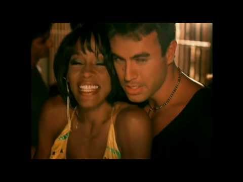 Whitney Houston &amp; Enrique Iglesias - Could I Have This Kiss Forever HD