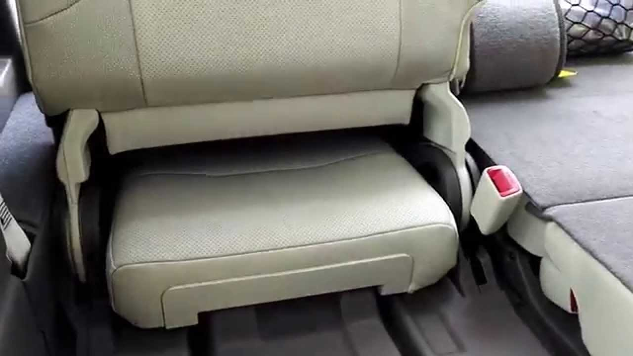 Lexus GX460 - 3rd Row Seat How To - YouTube