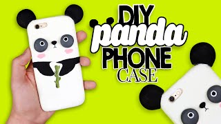 DIY | Kawaii Panda Phone Case Tutorial - Cover Panda Kawaii