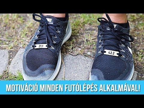 Motivációs cipőfűző biléta futóknak - Motiváció minden futólépés alkalmával