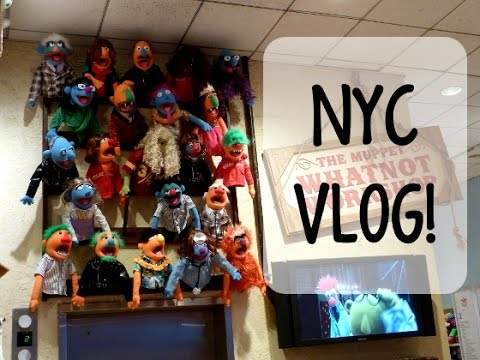 MAKING A MUPPET- NYC VLOG